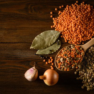The differences between red and French lentils