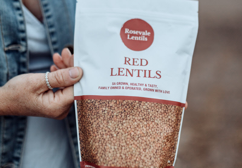 Rosevale - Lentil Packaging