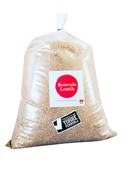 Whole Red Lentils 25kg BULK