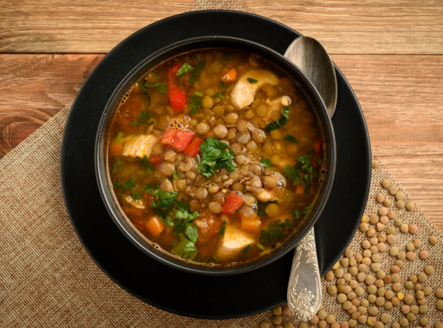 Rosevale Lentil and Chicken Soup (Man Flu Soup)