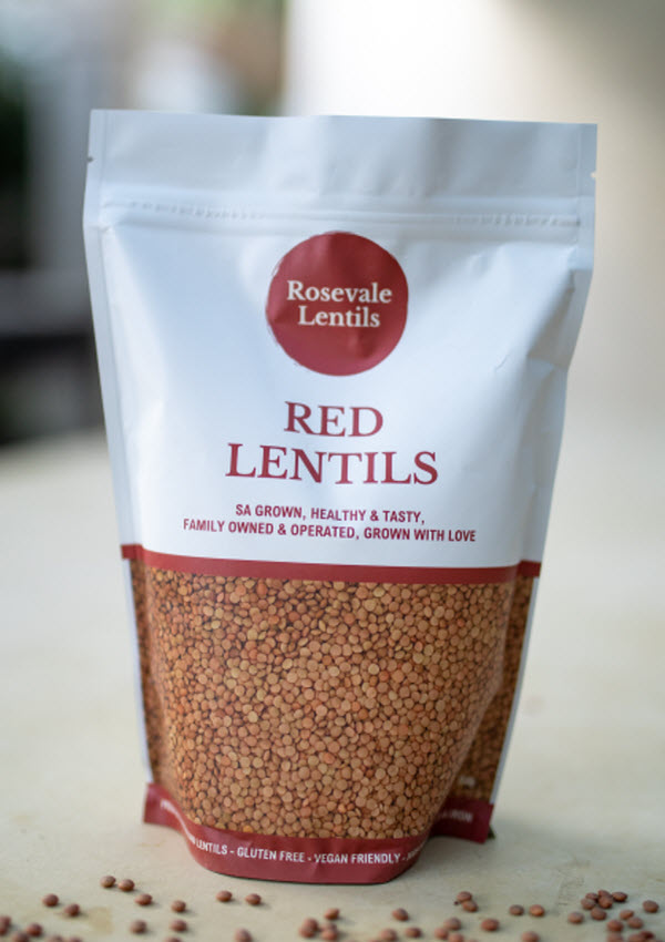 Whole Red lentils 750g Pack