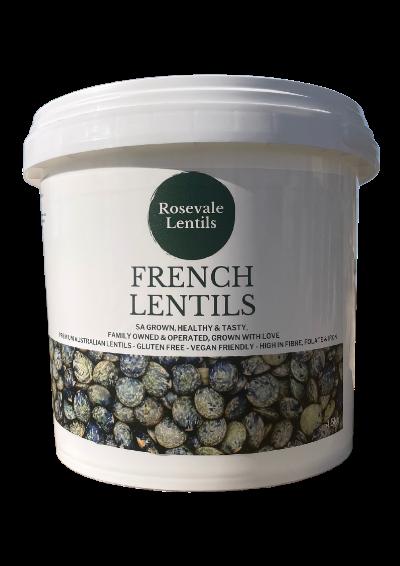 French lentils bulk 4.5kg featured